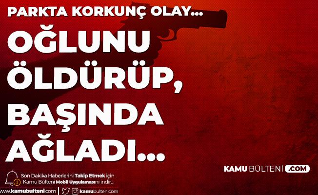 İstanbul Ataşehir'de Korkunç Olay! Oğlunu Öldürüp, Başında Ağladı...