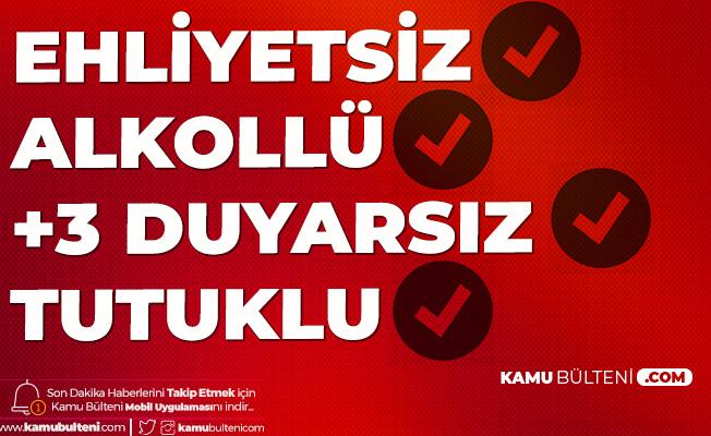 İstanbul Bahçelievler'de Ekip Otosuna Çarpan Alkollü Sürücü Tutuklandı