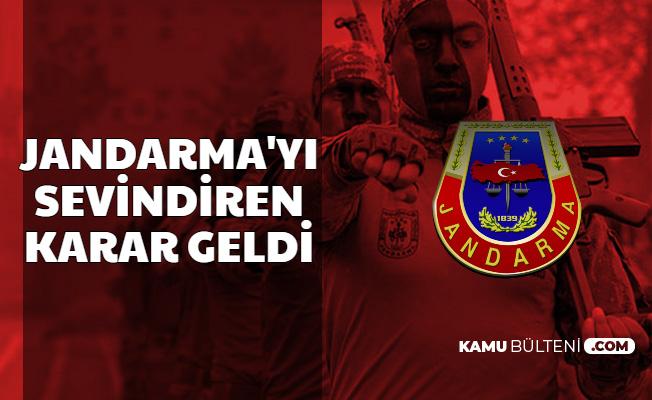 Jandarma Subay-Astsubay-Uzman Erbaş ve Uzman Jandarmaları Sevindiren Karar