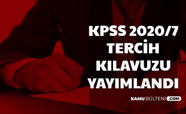 KPSS 2020/7 Tercih Kılavuzu Yayımlandı: Tarım ve Orman Bakanlığı 2153 Memur Alımı Yapıyor