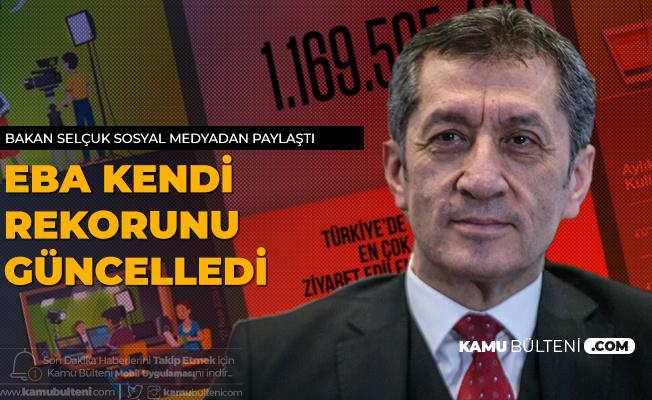 Milli Eğitim Bakanı Selçuk: Uzaktan Eğitimin Adresi EBA Rekorunu Güncelledi!
