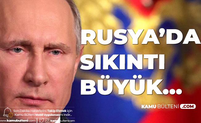 Rusya Devlet Başkanı Putin: İşsizlik Artıyor