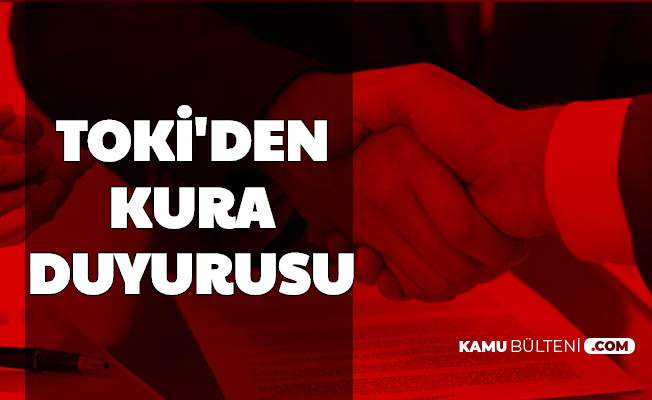 Şanlıurfa, Van, Bitlis, Muş, Diyarbakır 100 Bin Sosyal Konut Kura Çekimi Duyurusu