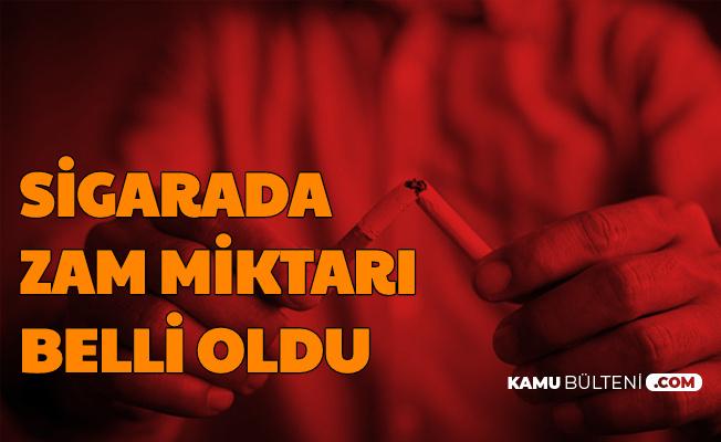 Sigaraya Vergi Zammında Net Fiyat Belli Oldu