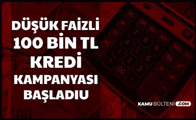 SMS ile Başvuru İmkanı: 100 Bin TL Kredi Kampanyası Başladı