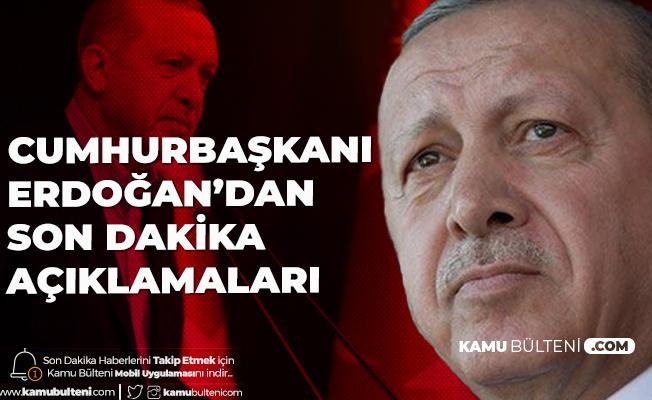 Son Dakika: Cumhurbaşkanı Erdoğan Ulusa Seslendi! Alınan Yeni Kararlar Açıklandı