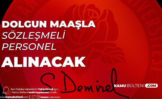 Süleyman Demirel Üniversitesi'ne Yazılım Geliştirme Uzmanı Alımı Yapılacak