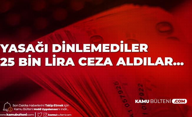 Tekirdağ'da Bayramda Evde Toplanan Kalabalığa 25 Bin Lira Ceza