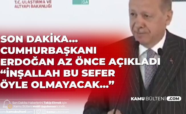 Cumhurbaşkanı Erdoğan'dan Son Dakika Açıklaması: Bu Süreçten Alnımızın Akıyla Çıktık! Ama Her Şey Bitmiş Değil...