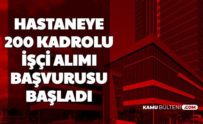 Ege Üniversitesi Hastanesine 200 Temizlik ve Güvenlik Görevlisi Alımı Başvurusu İŞKUR'da Başladı