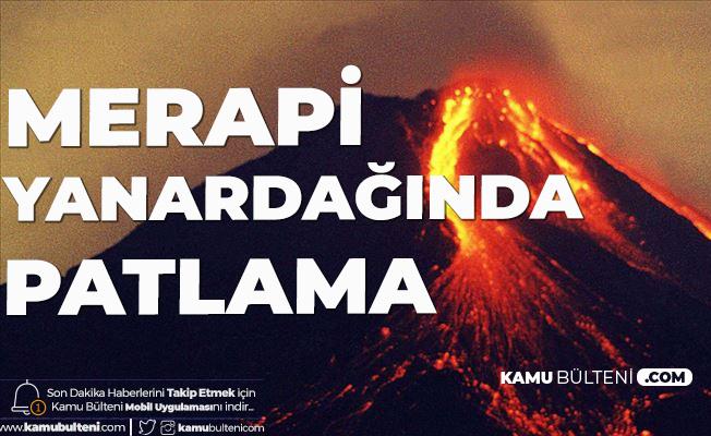 Endonezya'da Yanardağ Patlaması Meydana Geldi