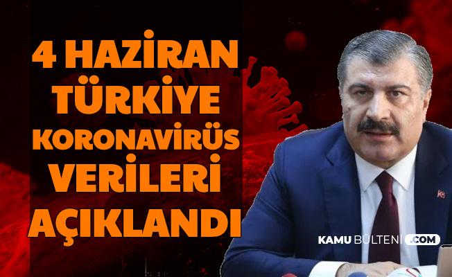 Fahrettin Koca Açıkladı: İşte 4 Haziran Türkiye Covid 19 Tablosu Bugünkü İyileşen , Vefat ve Vaka Sayısı