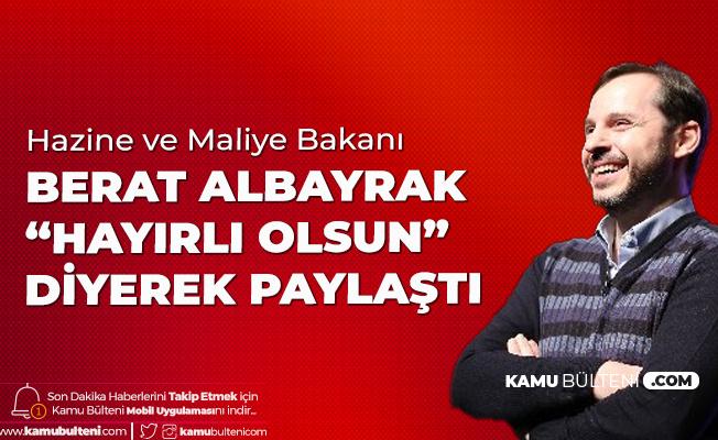 Hazine ve Maliye Bakanı Albayrak'tan 'Turkcell' Açıklaması