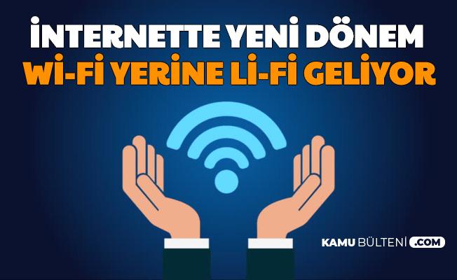 İnternette Yeni Dönem: Wi-Fi Yerine Artık Li-Fi