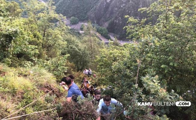 Karabük Yenice'den Son Dakika Haberi: Otomobil 200 Metre Uçurumdan Düştü
