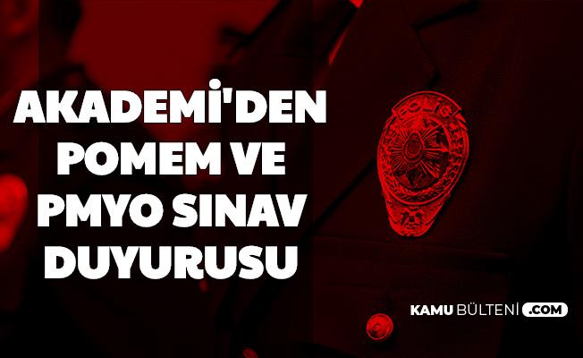 Polis Akademisi'nden PMYO ve POMEM Sınav Duyurusu: Yeni Polis Alımı İçin Sona Geliniyor