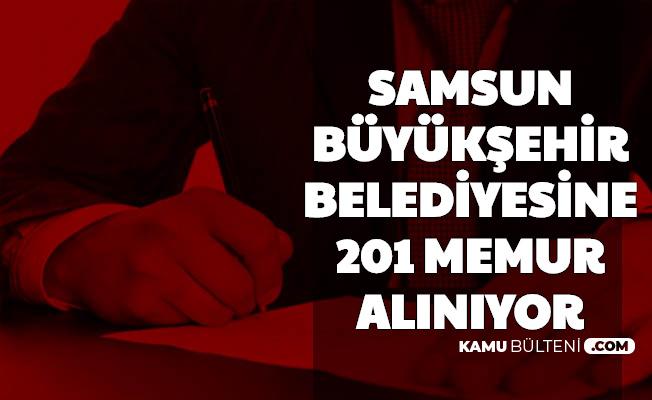 Samsun Büyükşehir Belediyesine 201 Memur Alımı-İşte İnternetten Başvuru Ekranı