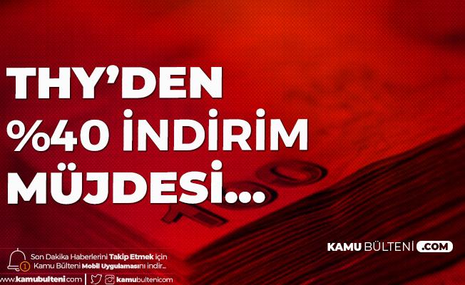 Türk Hava Yolları'ndan Sağlık Çalışanlarına %40 İndirim
