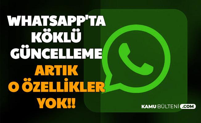 WhatsApp'a Köklü Güncelleme: Son Görülme, Çevirimiçi ve Yazıyor... Artık Yok