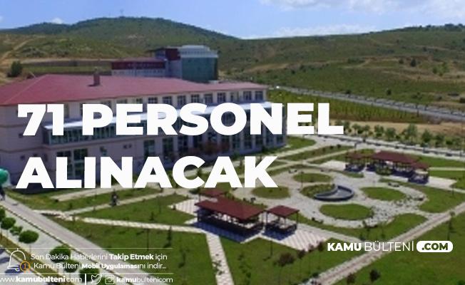 Yozgat Bozok Üniversitesi'ne Sözleşmeli Sağlık Personeli Alımı Yapılacak
