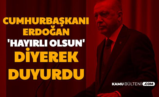 Ayasofya Kararı Sonrası Cumhurbaşkanı Erdoğan'dan İlk Açıklama Geldi