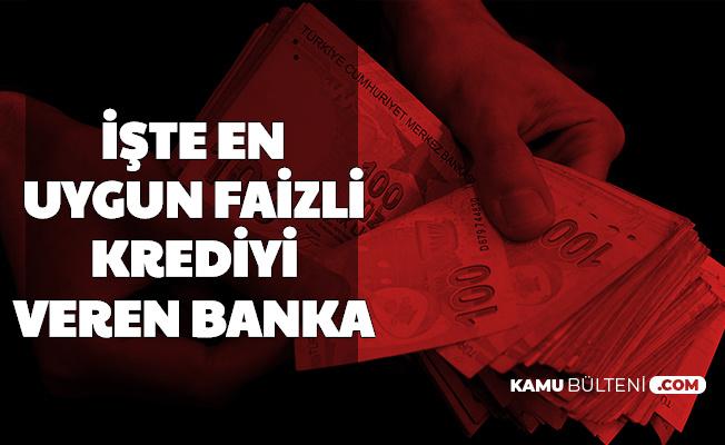 Bankalar Kredi Faiz İndirimi Yarışına Girdi: İşte En Uygun Faizli Kredi Veren Bankalar ve Faize Göre Kredi Hesaplama