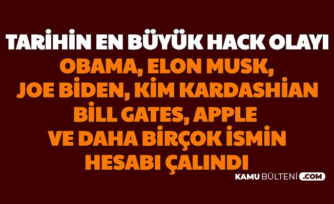 Barack Obama, Netenyahu, Joe Biden, Elon Musk, Warren Buffet, Kanye West... Twitter'da Hack Şoku
