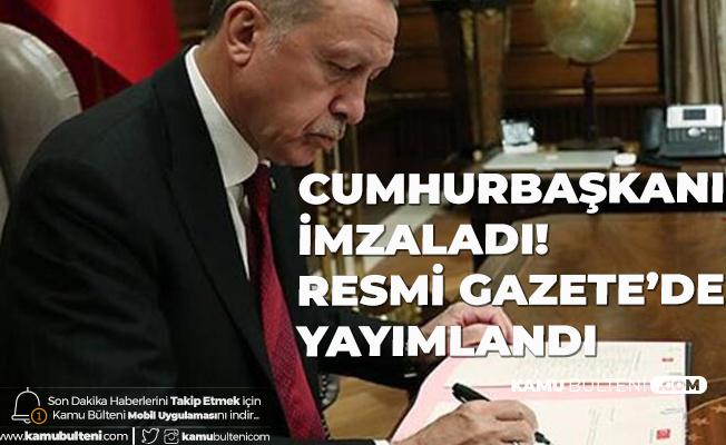 Cumhurbaşkanı Erdoğan İmzaladı! Yeni Atamalar Gerçekleştirildi
