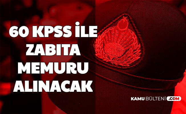 Demirözü Belediyesi 60 KPSS ile Zabıta Memuru Alımı Yapacak