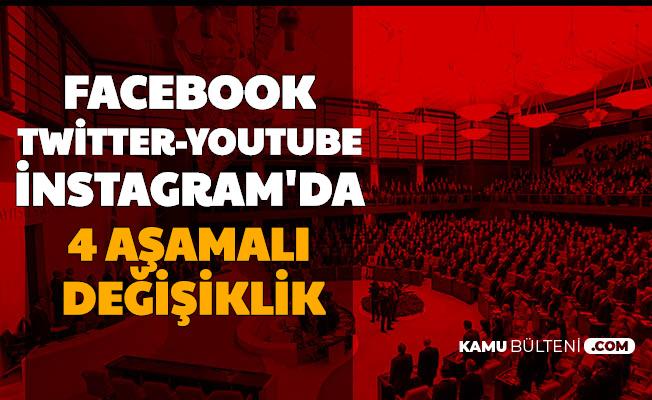 Facebook, Twitter, YouTube, İnstagram: Sosyal Medyada 4 Aşamalı Değişiklik