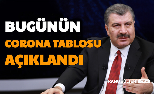 Fahrettin Koca, Türkiye 25 Temmuz Coronavirüs Tablosunu Açıkladı-İşte Vaka Sayısı