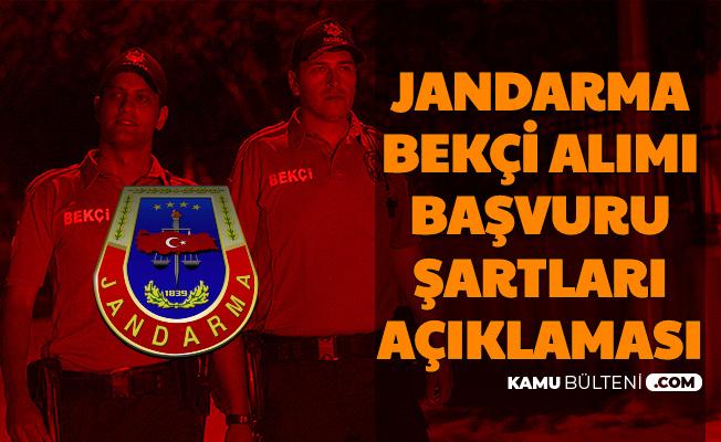 Bekçi Alımı Bekleyenler Dikkat: Jandarma Bekçilik Başvuru Şartları Açıklaması