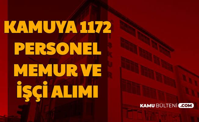 Kamuya 3 Bin TL Maaşla 1172 Personel Alımı Başvuru Adımları
