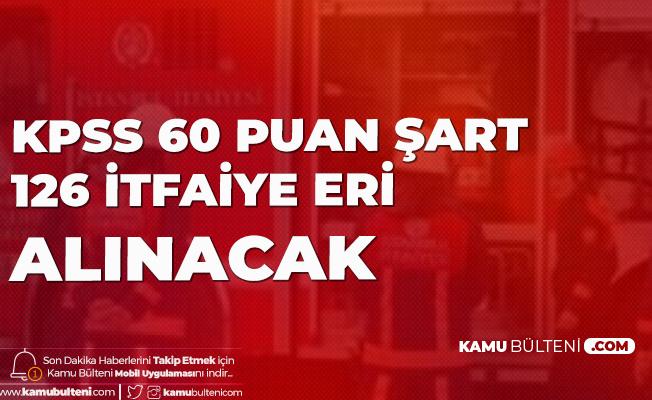 Konya Büyükşehir Belediyesi İtfaiye Eri Alımı için Başvurular Başlıyor
