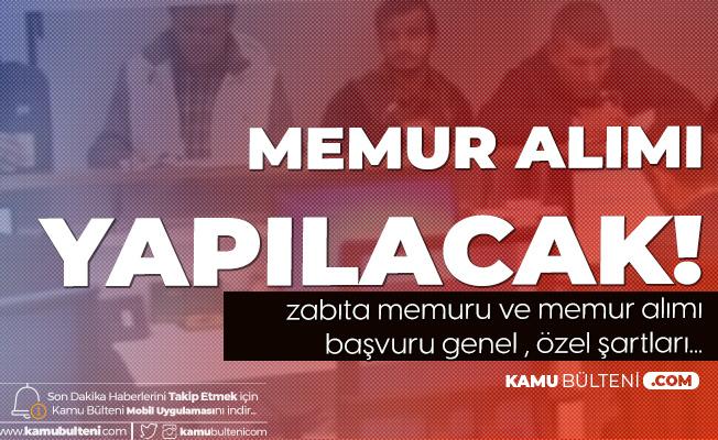 KPSS 75 Puanla Zabıta Memuru ve Memur Alınacak - Fatih Belediyesi Memur Alımı Şartları