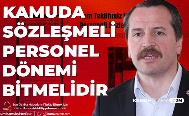 Memur-Sen Taşeron Kadro Sürecini Hatırlattı: Teklifimiz, Hedefimiz Sözleşmeli Personeli Kadro Güvencesine Almak!