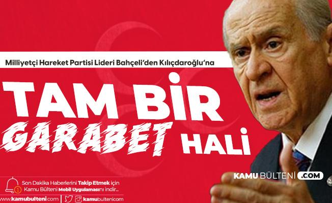 MHP Lideri Bahçeli: Kılıçdaroğlu'nun Demirtaş'ı Masum Gösterme Çabası Tam Bir Garabet Hali