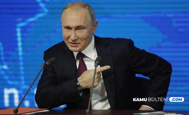 Putin'den Bomba Açıklama: ABD'ye Flaş LGBT Göndermesi