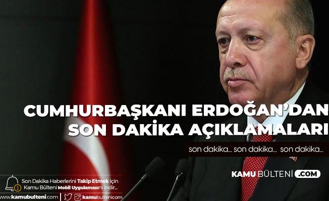 Son Dakika! Cumhurbaşkanı Erdoğan'dan Kurban Bayramı Öncesi Açıklama: Bayramın İki ve Üçüncü Günü de Değerlendirilmeli