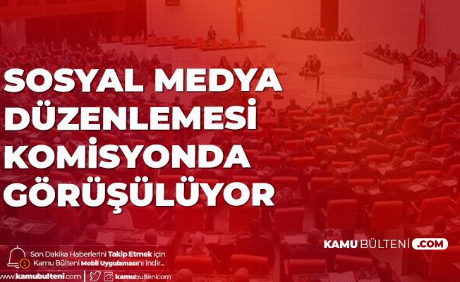 Sosyal Medya Düzenlemesi TBMM Adalet Komisyonuna Geldi
