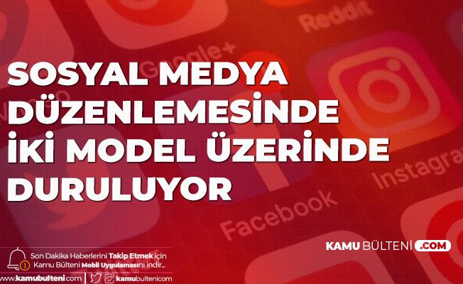 Sosyal Medya Düzenlemesinde İki Model Üzerinde Duruluyor