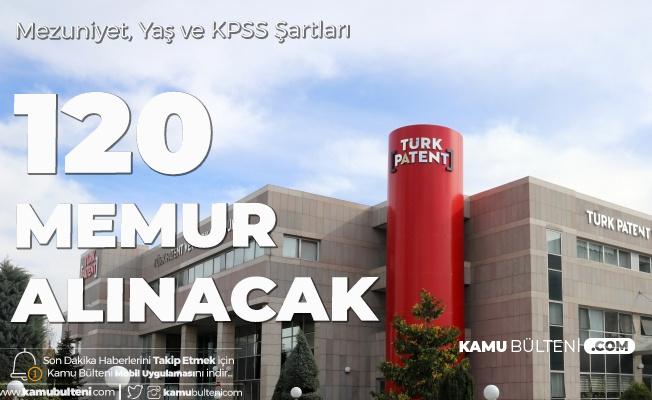 Türk Patent ve Marka Kurumu Memur Alımı Yapacak