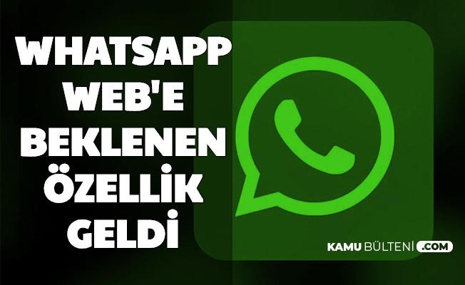 WhatsApp Web'e Beklenen Özellik Geldi: Karanlık Mod Nasıl Yapılır?