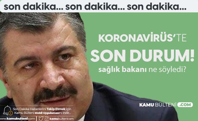 24 Ağustos Korona Tablosu Yayımlandı! Sağlık Bakanı Ağır Hasta Sayısına Dikkat Çekti