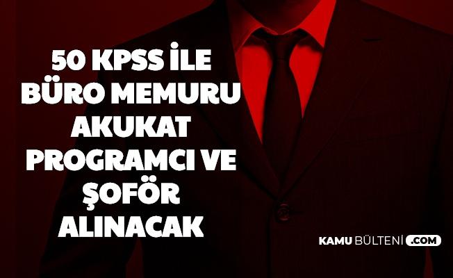 50 KPSS ile Büro Memuru, Şoför, Avukat ve Programcı Alacak (Gaziantep İslam Bilim ve Teknoloji Üniversitesi)