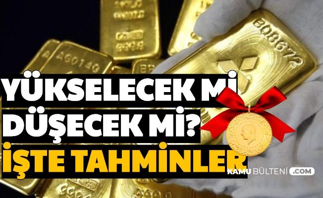 Altın Fiyatları Yükselecek mi , Düşecek mi? Rekor Sonrası Tahminler Yayımlandı