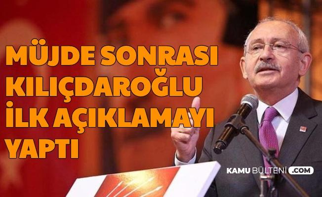 Doğalgaz Müjdesi Sonrası Kılıçdaroğlu'ndan İlk Açıklama Geldi