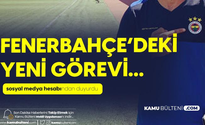 Ekrem Ekşioğlu Fenerbahçe'deki Yeni Görevine Başladı
