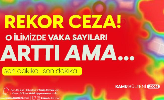 Gaziantep'te 2 bin 546 Kişiye Sosyal Mesafe ve Maske Kuralını İhlalden Ceza