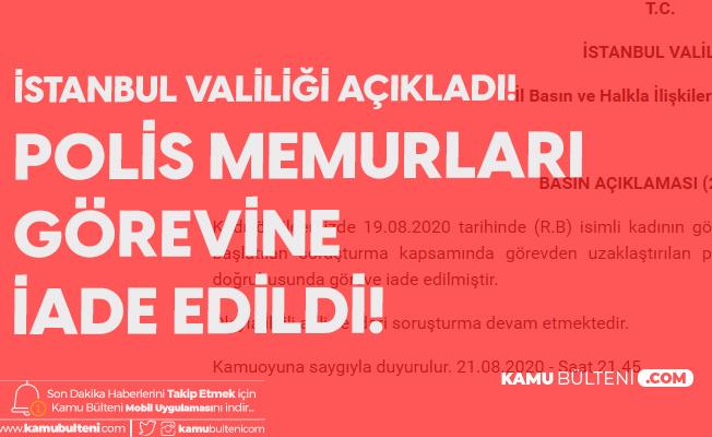 İstanbul Valiliği'nden Kadıköy'deki Olayla İlgili Açıklama Geldi!